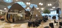 Baku airport is something else. Architectural marvel!